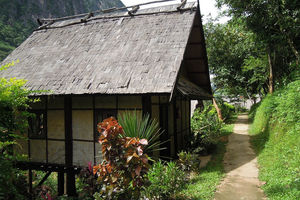 Nong Kiau - Nong Kiau River Side Lodge - bungalow - foto: Nong Kiau Riverside