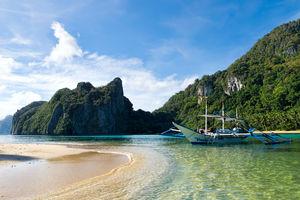bootje Cadlao Island - Bacuit Archipel - Palawan - Filipijnen