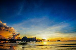 zonsondergang Lio Beach - El Nido Palawan - Filipijnen - Intas - CTTO