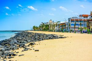 Pondicherry - Rock Beach - India - foto: flickr