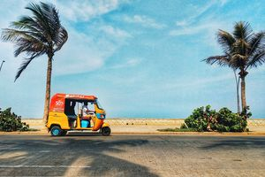 Pondicherry - Tuktuk - Boulevard - India - foto: unsplash