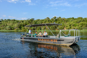Rundu - boottocht Okavango rivier - Namibie - Hakusembe - foto: Hakusembe River Lodge