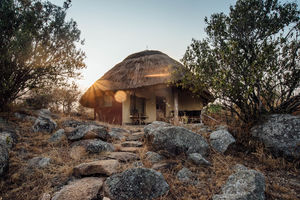 Rwakobo Lodge - family cottage - Lake Mburo - Oeganda