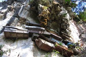 hangende doodskisten Sagada - Luzon - Filipijnen