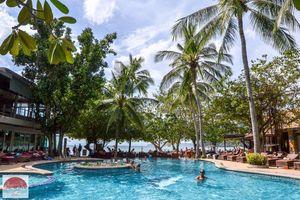 Zwembad Sand Sea Resort in Krabi - Thailand