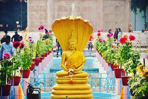 Sarnath - Standbeeld - India - foto: pixabay