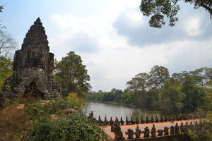 Siem Reap - Angkor Thom South Gate - Cambodja