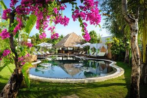 Siem Reap - Cambodja - Navutu Dreams Resort and Spa - tuin - foto: NavutuDreamsResort