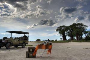Snack - Kwando - Nxai Pan Camp - Botswana - foto: Nxai Pan Camp