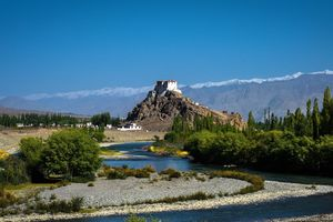Stakna Klooster - Indusvallei - Leh - India - foto: flickr