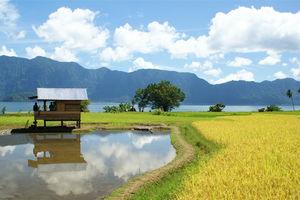 Sumatra - Natuur - Bergen - Meer - Indonesie - foto: flickr