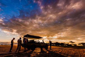 Sundowner - Kwando - Nxai Pan Camp - Botswana - foto: Nxai Pan Camp