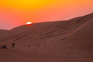 Sunset Safari - woestijn - Dubai - foto: pixabay