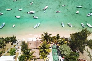 The Bay Mauritius - luchtfoto