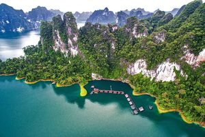 Uitzicht The Greenery Panvaree in Khao Sok - Thailand