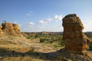 Tuli Game Reserve - rotsformaties - Botswana - foto: Tuli Safari Lodge