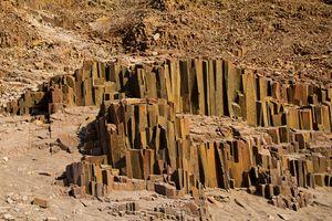 Twyfelfontein - rotsformaties - Namibie - foto: Twyfelfontein Country Lodge