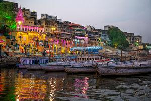 Varanasi - Rivier - India - foto: flickr