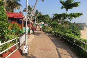 Varkala - Strand - Promenade - India - foto: flickr