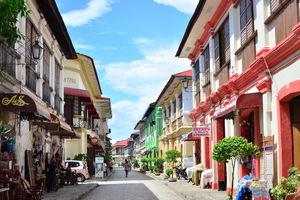 Calle Crisologo in Vigan - Filipijnen