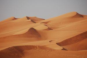 Woestijnsafari landschap - Dubai - foto: pixabay