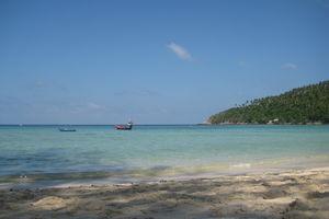 zee en strand in Koh Pha Ngan - Thailand