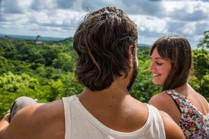 huwelijksreis honeymoon koppel natuur - Romantisch - Algemeen