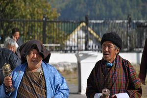 lokale bevolking Bhutan