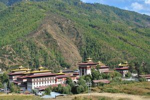Thimphu Dzong in Bhutan
