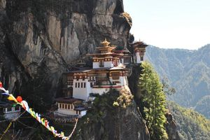 Tigers Nest in Bhutan - Paro - Bhutan
