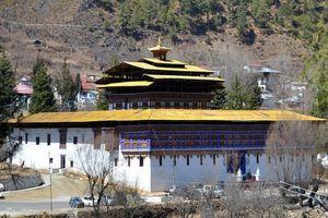 Ha Dzong in Haa Vallei