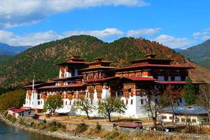Vesting, Punakha Dzong - Bhutan