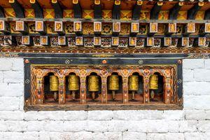 Gebedsmolens - Bhutan