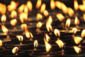 boterlampjes in Bhutan - Bhutan