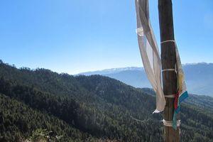 uitzicht nabij Bumthang