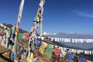 Chele La vallei met uitzicht op Jomolhari - Chele La vallei - Bhutan