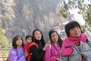 familie in Taktsang - Taktsang - Bhutan