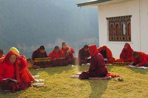 nonnen Wolakha nunnery in Punakha - Punakha - Bhutan