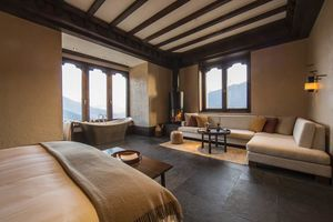 kamer Gangtey Lodge - Gangtey Lodge - Bhutan - foto: Gangtey Lodge