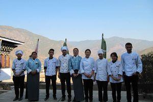 personeel van het Bongde Goma Resort - Bongde Goma Resort - Bhutan
