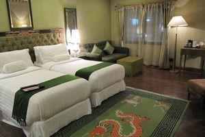 kamertype green in het Druk Hotel - Druk Hotel - Bhutan - foto: Mieke Arendsen