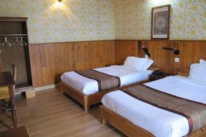 kamer van Yangkhil resort - Yangkhil resort - Bhutan - foto: Mieke Arendsen