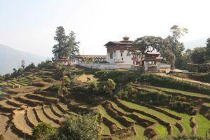 Chorten Nebu klooster nabij Punakha