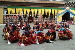 festival  Paro Domchoe (1) - Paro - Bhutan