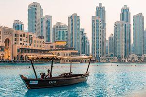 boot Downtown - Dubai - foto: pixabay