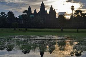 Cambodja - Angkor - Angkor Wat - zonsopgang