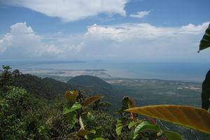 Cambodja - Kep - uitzicht vanaf Bokor Hill