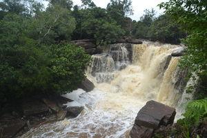 Cambodja  Kep - waterval bij bokor hill