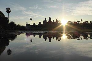 Zonsopgang Angkor Wat - Cambodja