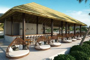 beachbar met zitjes - Royal Sands - Cambodja